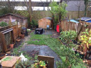 Charity Garden Before 1