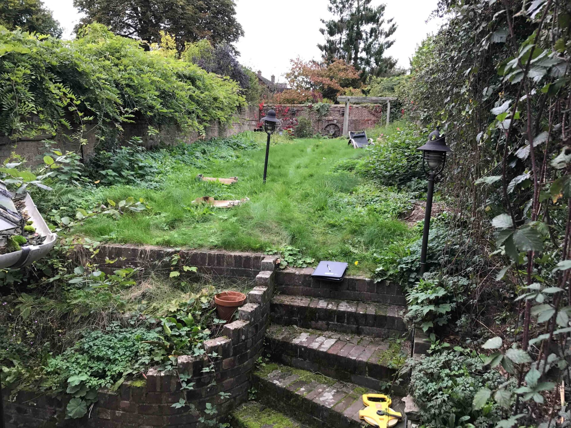 Vikings Garden Before